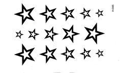 3D Новый Дизайн Флэш Татуировки Съемный Водонепроницаемый мужской Половины Рукав звезда Тотем Временные Татуировки Наклейки Боди-Арт Татуировки DTZE