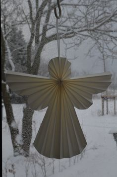 An Angel in the snow..