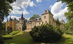 Castle Kliczkow, Osiecznica, Lower Silesia, Poland.