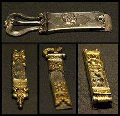 Buckles from the Chalcis treasure Chalcis Greece about 1330-1470 @British Museum