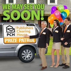 Publishers Clearing House Winners and Prize Patrol PCH Instant Win Sweepstakes, Online Sweepstakes, Win For Life, The Life, Pch Dream Home, Lotto Winning Numbers, Padron, See You Soon, Winner Announcement