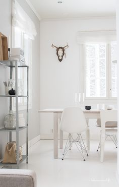 Keittiön pöytä Bedroom Inspiration, Scandinavian, Ikea, Dining Table, Interior Design, Kitchen, Furniture, Home Decor, Nest Design
