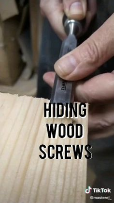 It's not easy to do.But it's a very cool idea projects easy Hiding wo. - It's not easy to do.But it's a very cool idea projects easy Hiding wood screws - Woodworking Projects Diy, Woodworking Jigs, Woodworking Furniture, Diy Wood Projects, Diy Furniture, Woodworking Workshop, Woodworking Magazines, Wood Crafts, Woodworking Patterns