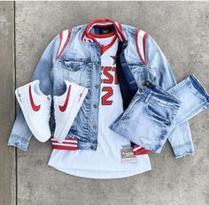 The Human Highlight Film 🎞️ Dope Outfits For Guys, Swag Outfits Men, Stylish Mens Outfits, Nike Outfits, Casual Outfits, Mens Fashion Wear, Tomboy Fashion, Fashion Outfits, Men's Fashion