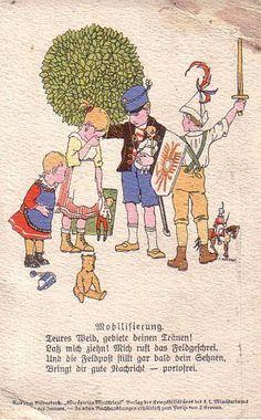 """""""Wir spielen Weltkrieg"""" , Mobilisierung, Karte des Roten Kreuzes"""