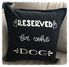 Reserved for the Cat or Dog Cushion Pet Gift by TayloredGiftsShop