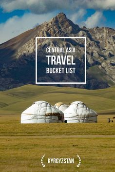 Setting up your travel bucket list? Do not forget to look or your perfect tour on Kalpak Travel and visit the gorgeous pastures with yurts in Kyrgyzstan Kyrgyzstan Travel Bucket List: Explore Central Asia with Kalpak Travel