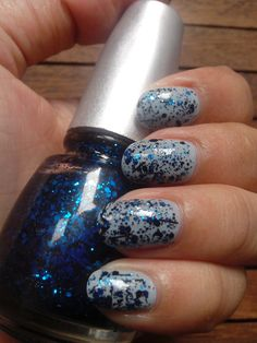 Madly Blue with China Glaze Mosaic Madness