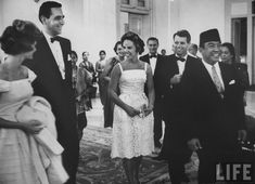 Soekarno during one of his visits to the US.