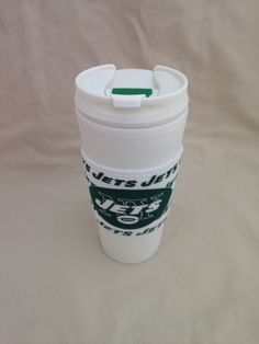 """New York """"Jets"""" Insulated Mug/Cup by SportzNutty on Etsy"""