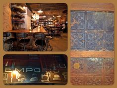 Decorative Ceilings at Emporio Restaurant in NYC