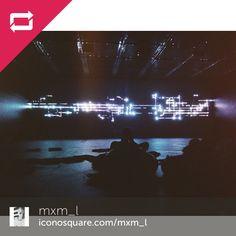 """Regram from @mxm_l """" Fragile Territoire """" #champslibres #RobertHenke #festivalmaintenant #maintenant2014 #light #installation"""