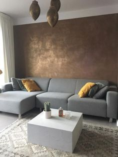The wall color! Interior Design Living Room, Living Room Decor, Interior Decorating, Bedroom Decor, Faux Painting Walls, Faux Walls, Pastel Home Decor, Home And Living, New Homes