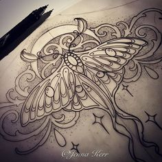 #Lunamoth #moth #underbust