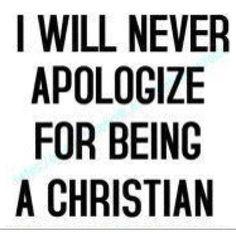Proud Christian ♥️