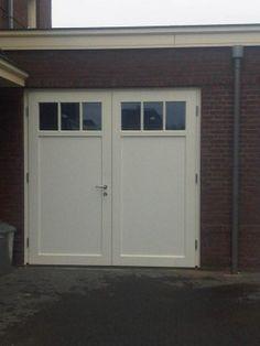 dubbele garagedeur, jaren 30
