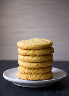 Momofuku Milk Bar Corn Cookies - imagine the flavor of sweet cornbread condensed into a chewy cookie with a crunchy exterior. Best. Cookie. Ever.