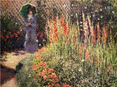 Gladioli - Claude Monet