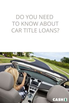 Everything You Need to Know about Car Title Loans. You can give any vehicle title – cars, motorcycles, or trucks – and use it as a bond for your loan. Also, the vehicle that serves as collateral will determine the amount of loan the lender can give you. You are given an amount of money that you should pay within the agreed period time. Usually, you must repay the loan within 30 days or so. They also require you to pay a lender fee for the service they offer for borrowing the money.
