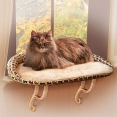 Kitty Sill Window Perch with Bolster Give your cat a room with a view with the ideal window sill kitty perch. Features of the Deluxe Kitty Sill Cat Window Perch Cat Window Perch, Cat Perch, Cat Merchandise, Cat Dog, Cat Supplies, Cat Furniture, Pet Beds, Beautiful Cats, Pet Accessories
