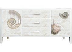 Coast Shell Low Cabinet