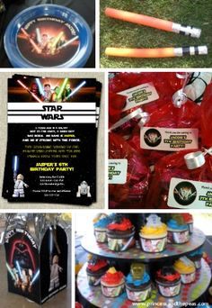 Lego Star Wars party ideas | Lego Star Wars invitations | Lego Star Wars party | Lego Star Wars party printables | Lego Star Wars cupcake wrappers  #legostarwarsparty #legostarwarspartyideas #legostarwarsbirthdayparty