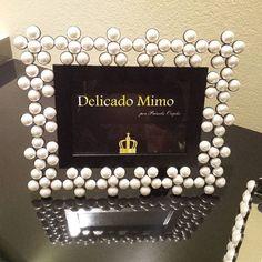 #delicadomimo #artesanato #mimo #portaretrato #perolas #dicadepresente…