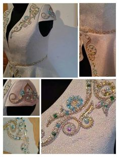 Gorgeous embroidery and beadwork
