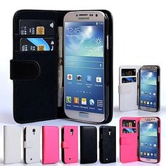 lompakko tyyli koko kehon suojakotelo Samsung Galaxy S4 i9500 (valikoituja väriä) – EUR € 6.43