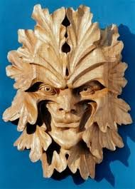 Green Man by Chris Pye Celtic Green, Symbolic Art, Wood Carving Patterns, Wood Sculpture, Sculpture Ideas, Creative Artwork, Ancient Symbols, Contemporary Artwork, Green Man
