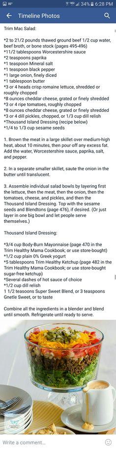 Trim Mac Salad