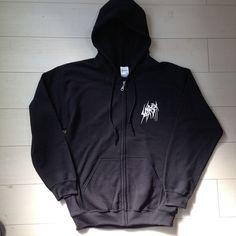 "SETE STAR SEPT ""Torture Machine"" Zip hoodie - front Body: Gildan GILD-F1860 8.0oz Size: S, M, L, XL http://shop.7s7.org/merch/sete-star-sept-torture-machine-zip-hoodie-black"