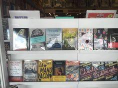 """Tierra en Sombras en  """"La boutique del Libro de Pilar"""". gentileza de Daniela Mosca"""