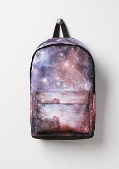 Purple Galaxy Canvas Backpack | rue21