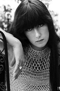 Cher Bono aged 19, at home, Los Angeles 1967.   by Colin Beard (photographer, Australia)