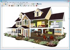 Nice Interior Design, House Design Software Houseplan 3d Home Design With  Autocad Software 3d Floor Plan