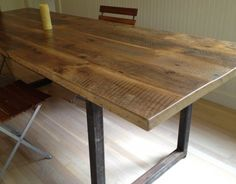 1000 Images About Table On Pinterest Reclaimed Wood