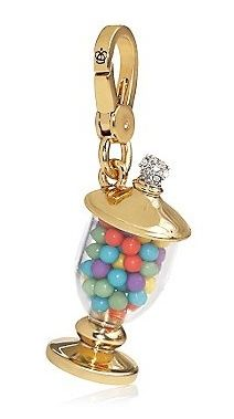 Juicy Couture Candy Jar Gumballs Gold Bracelet Charm 2014