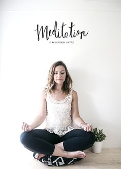 Meditation is a great way to refocus and relax. Try it with this guide on meditation for beginners! #springintoaction