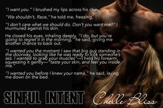 Releasing Now: Sinful Intent by Chelle Bliss