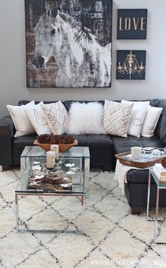 Come See My Rustic Glam Living Room Makeover And New Area Rug! Iu0027m Also  Sharing Dou0027s And Dontu0027s, Decor Tips And Tricks For Choosing An Area Rug! Area  Rug ...
