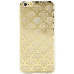 SONIX Clear Gold Lace iPhone 6 Plus Case ($17) ❤ liked on Polyvore featuring accessories, tech accessories, phone cases, phones, tech and iphone