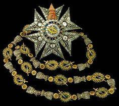 Collare dell'Ordine Reale della Torre e della Spada, del Valore, Lealtà e Merito del Re del Portogallo
