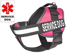 Dogline Unimax Service Dog Vest and Free Service Dog ID Badge with ADA Law >>> See this awesome image  : Dog harness
