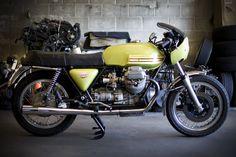 '72 Moto Guzzi V7 Sport