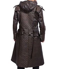 Are you looking for a leather jacket made from the finest quality leather? You should definitely buy Assassins Creed Syndicate Ninja Jacob Frye Brown Leather Trench Coat. Leather Fashion, Leather Men, Mens Fashion, Brown Leather, Real Leather, Fashion Boots, Leather Trench Coat, Leather Jacket, Leather Hoodie