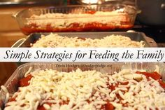 Simple Strategies for Feeding the Family - slow cooker recipes, batch cooking, freezer cooking and habits for the family table.