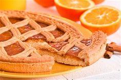 Νηστίσιμη πάστα φλώρα   Dimitris Skarmoutsos Onion Rings, Dessert Recipes, Desserts, Apple Pie, Waffles, Flora, Recipies, Pasta, Sweets