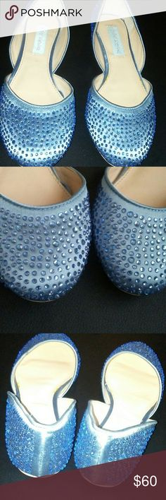 Betsy Johnson  Swarovski flat shoe New Betsey Johnson Shoes Flats & Loafers
