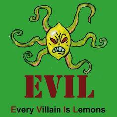 Every Villain Is Lemons, otherwise known as: EVIL(Sponge bob) Spongebob Episodes, Watch Spongebob, Spongebob Pics, Spongebob Tattoo, Mermaid Man, Pineapple Under The Sea, Square Pants, Spongebob Squarepants, Cool Cartoons